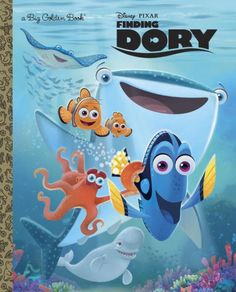 The highly anticipated sequel to Disney/Pixar Finding Nemo, Disney/Pixar Finding Dory releases in theaters on June 17, 2016. The animated film reunites the friendly-but-forgetful blue tang fish with her loved ones, and everyone learns a few things about the true meaning of family along the way. Boys and girls ages 3 to 7 will love this beautifully illustrated hardcover Big Golden Book that's based on the film.