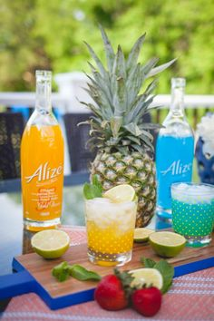 Cocktails You Want Make [And Drink!] This Summer - Living in Yellow French Vodka, Aged Rum, Cute Umbrellas, Living In Yellow, Grass Stains, Patriotic Outfit, Juice 3, Exotic Fruit, Ginger Beer
