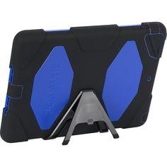Griffin Technology - Survivor Case for Apple® iPad® Air - Black/Blue (Best Buy)