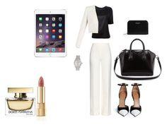 """""""work hard"""" by camillastefan1 on Polyvore featuring moda, Diane Von Furstenberg, Versace, BCBGMAXAZRIA, Givenchy, Yves Saint Laurent, Rolex e Dolce&Gabbana"""