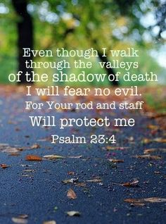 Psalm 23.4