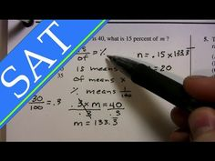 SAT Math Tips, Tricks and Strategies - Part I...THIS IS GOLD FOR PEOPLE WHO HATE MATH LIKE ME.