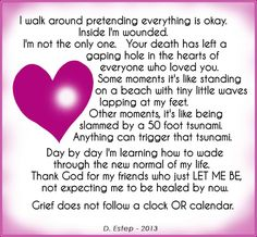 Grief ..... For those I love & are feeling the pain of grief,Loss of a loved one,friend or a pet .