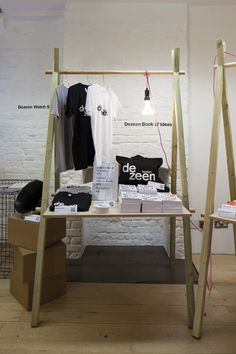 Dezeen Space at 54 Rivington Street