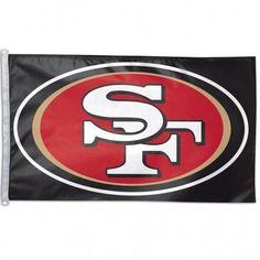 NFL San Francisco 49ers Flag, 3 x 5-Feet