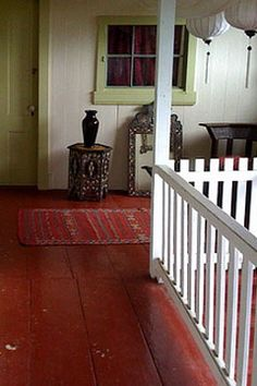 21 Ideas Farmhouse Staircase Painted Floors For 2019 Painted Hardwood Floors, Staining Wood Floors, Painting Fabric Chairs, Painting On Wood, Farmhouse Remodel, Farmhouse Style Kitchen, Modern Farmhouse, Painted Staircases, Bohemian Living Rooms