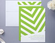 Minted fracas wedding invitations