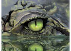 alligator murals - Google Search