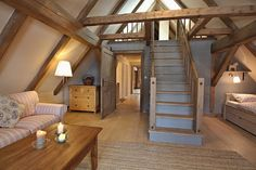 Prodej tradiční chalupy :: Reality 1788 Attic Rooms, Bunk Beds, Planer, Cottages, Living Spaces, House Design, Colours, Future, Live