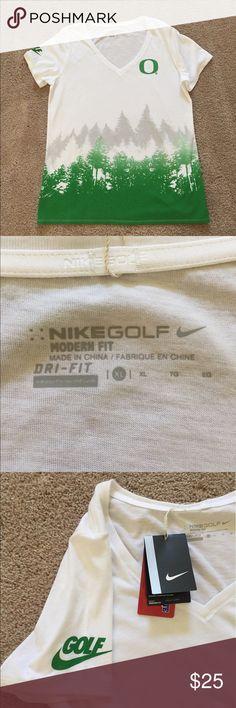 Nike Golf Woman's Shirt Woman's Nike Golf shirt// modern fit // dri-fit// Brand New with Tags SMOKE FREE Nike Golf Tops Tees - Short Sleeve