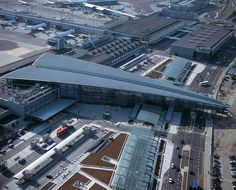 Copenhagen Airport Terminal.. How cool is that! we have been there twice, but both times at night!