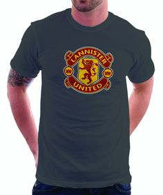 LIMITED EDITION: Game of Thrones Manchester United Logo Parody Spoof t – TshirtNow