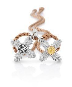 Beautiful and delicate rose pendant crosses. Jenna Clifford, Cross Pendant, Diamond Jewelry, Renaissance, Custom Design, Jewelery, Crochet Necklace, Delicate, Pendants