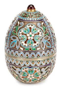 cloisonne easter eggs - Google Search