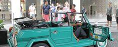 Outbound Di Bali Mengunakan VW safari sebagai pendukung Outbound dengan Tema Amazing Race