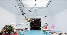 2月11日から水戸芸術館現代美術ギャラリーで始まった展覧会「ゲルダ・シュタイナー&ヨルク・レンツリンガー Power…