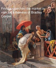 Italian The Mask Seller, A Roman Street Scene oil painting reproduction by Cesare Mariani Ancient Rome, Ancient Art, Ancient History, Roman History, Art History, Rome Antique, Pompeii And Herculaneum, Roman Art, Classic Paintings