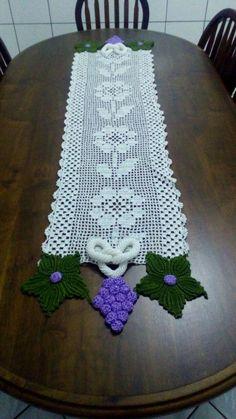 Filet Crochet, Crochet Doilies, Table Runners, Needlework, Costa, Blog, Diy, Crochet Carpet, Quilt Table Runners