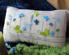 Old Fashioned almohada jardín de verano estilo por PillowCottage