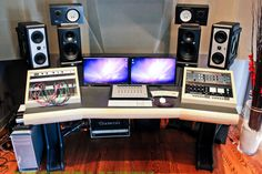 Mastering Desk Recording Studio Furniture