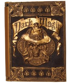 Dark Magic Book - Decorations & Props - love this!!