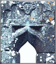 Kilsarkan Sheela-na-gig, Kilsarkan, Co. Kerry, miles East of Farranfore (visited May Sacred Feminine, Divine Feminine, Erin Go Bragh, Divine Mother, Goddess Art, Medieval Art, Green Man, Samhain, Ireland
