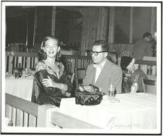 Young Iris Apfel und Carl Apfel
