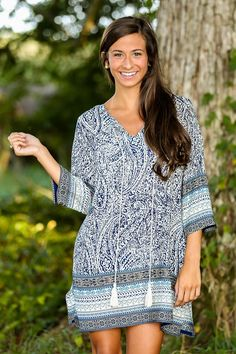 Hidden Meaning Tunic - $42.00