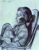 Pablo Picasso. Jacqueline Rocque. 1954