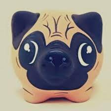 Resultado de imagen para alcancias personalizadas Pig Bank, Color Me Mine, Godchild, Gourds, Something To Do, Arts And Crafts, Clay, Ceramics, Pets