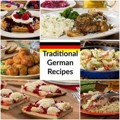 21 Traditional German Recipes You Can't Miss - - Whether you're looking for an Oktoberfest recipe or just want to make a traditional German dinner, you'll love our collection of authentic German recipes! German Recipes Dinner, German Cakes Recipes, Easy German Recipes, Dutch Recipes, Fun Easy Recipes, Cooking Recipes, Austrian Recipes, French Recipes, Vintage Recipes