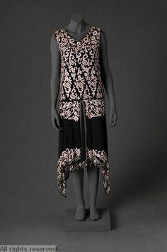 1920-1925 evening dress