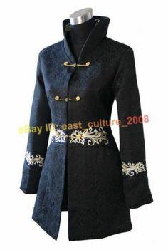 Chinese Handmade Embroidery Winter Jacket Coat WHJ 112 | eBay