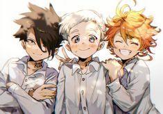 Doujinshi - Illustration book - The Promised Neverland (HOME) / Comic Valley - Anime Manga Anime, Fanarts Anime, Manga Art, Anime Characters, Otaku Anime, Norman, Illustration Book, Tamako Love Story, Kaito Kid