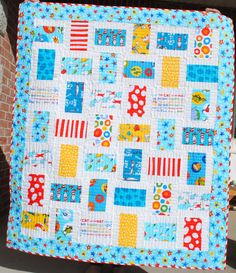 {Sisters and Quilters}: THIS WAY & THAT  This looks like it could go together quickly with strip piecing.