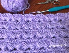 Vídeo tutorial paso a paso de esta hermosa puntada tejida a #crochet