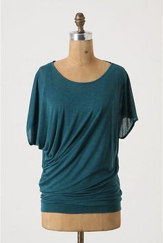 Drapey Bubbled Tee from Anthro