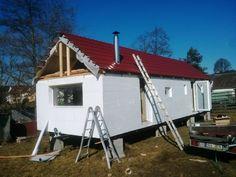 Caravan Makeover, Just My Size, Remodeling Mobile Homes, Vw Camper, Cabins, Tiny House, Palace, Sweet Home, Shed