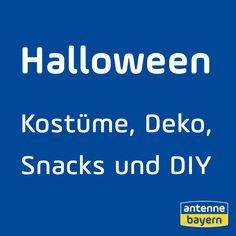 Happy Halloween! Am 31. Oktober feiern wir das Geisterfest. Da braucht man Halloween Deko, Halloween Kostüme, das richtige Makeup und natürlich Party-Snacks. Wir haben ganz viele Ideen, Inspirationen und Bastelanleitungen für euch! Viel Spaß beim Basteln mit Kindern und Halloween feiern! Snacks Für Party, Happy Halloween, Makeup, Halloween Costumes Uk, Craft Tutorials, October, Tips, Deco, Make Up