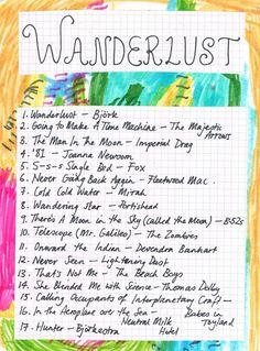 """Wanderlust"" http://rookiemag.com/2012/03/friday-playlist-wanderlust/"