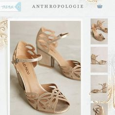 Anthropologie Shoes - New with tag - Anthropologie cut-out shoes