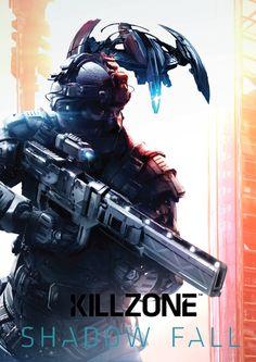 Railgun and Drone Video Game Posters, Video Game Characters, Video Game Art, Video Games, Armor Concept, Concept Art, Killzone Shadow Fall, Futuristic Armour, Future Soldier