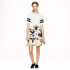 J.Crew - Surf skirt in cove floral...awesome skirt. It is the material of a wetsuit...awful shirt they put it with though :)