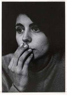 Portret van een vrouw, Dave Heath, 1962