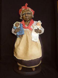 Rebecca Kerin Folk Art Dolls ~ Mammy (2)