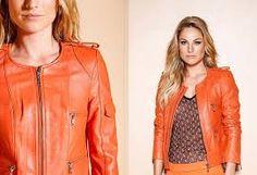 Resultado de imagem para jaqueta de couro feminina
