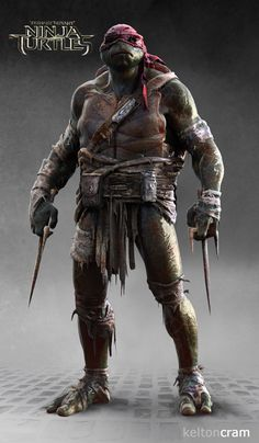 See What Shredder and the Ninja Turtles Almost Looked Like in the New Movie | Fandango
