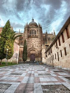 Portada sur de la Catedral #Salamanca