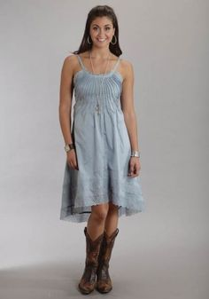 Sweet yet Sexy Blue : Ladies Cowgirl Dress | Free Shippin' on Western Shirts