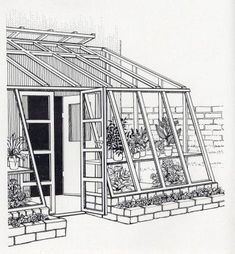 Attached Greenhouse Plans | Free DIY Solar Greenhouse Plans #Freeplansforyourownshed